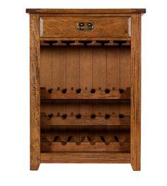Colorado Wine Cabinet, a perfect, rustic design to store all of your fine bottles of wine. #interiordesign #home #homedecor #interior123 #furniture #kitchen
