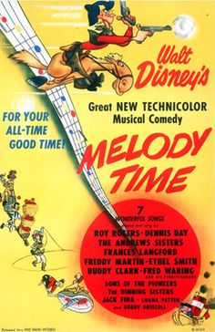 """10. """"Melody Time"""" (1948)"""