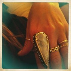 Pamela Love $625 ouch! my favourite ring in the world
