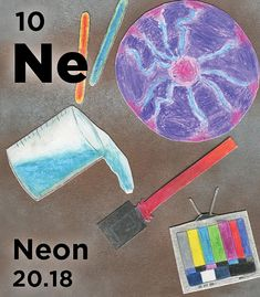 Ne - Liquid neon is used as a cryogenic refrigerant to freeze corpses for preservation or potential revival in the future Noble Gas, Freeze, Chemistry, Periodic Table, Facts, Neon, Future, Learning, Board