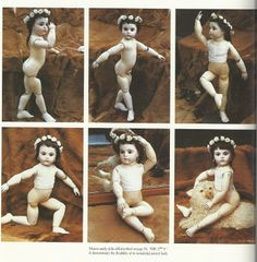bru doll with wooden body