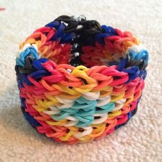 Tutorial: How to Make a Rainbow Loom Bracelet from an Alpha Friendship Bracelet Tutorial