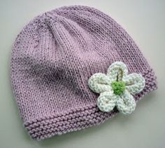 Mack and Mabel: Knitted Flower Tutorial. This is just a pattern for the flower. Free