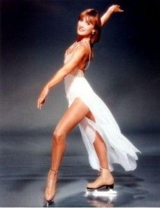 Peggy Fleming - One of the best American figure skaters.