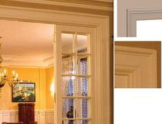 interior door trim options left corner window trim ideas
