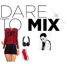Dare to mix, created by lello-love on Polyvore