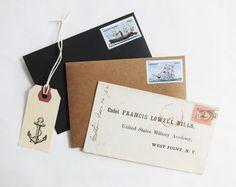 nautical + ship stamps