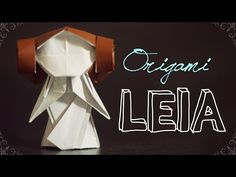 How to make an origami Leia #SciFiSunday