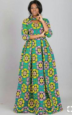 AFRICAN LONG DRESSES