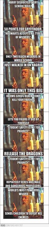 Harry Potter, Dumbledore, funny stuff