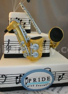 Cute and Beautiful Cake pics Cupcake Pictures, Food Pictures, Food Pics, Beautiful Cake Pics, Pretty Cakes, Cute Cakes, Music Themed Cakes, Theme Cakes, Music Centerpieces