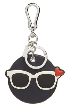 COACH 'Shady Emoji' Bag Charm available at #Nordstrom