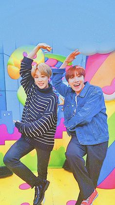 Two CUTE bts being funny