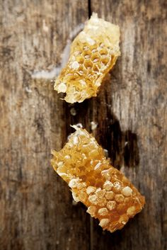 Honeycomb is a yummy, healthy snack. Or, use as a natural sweetener! Acacia Honey, Milk And Honey, Raw Honey, Honey Bees, Pure Honey, Natural Honey, Save The Bees, Adore You, Deserts