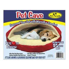 Pet Cave Sleeping Bag-Frankie's dream bed!