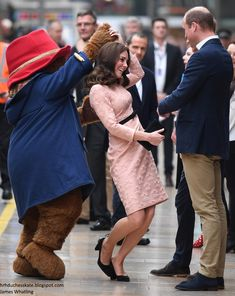 In an unexpected appearance, the Duchess joined William and Harry to meet children from the charities they support on board Belmond British ...