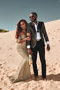 Charlye and Stanley's Regal Desert Romance Engagement