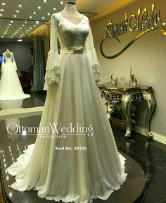 Gelinlik Modeller One Shoulder Wedding Dress, Ottoman, Wedding Dresses, Collection, Fashion, Bridal Dresses, Moda, Bridal Gowns, Wedding Gowns