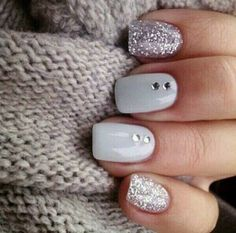 Light grey strass