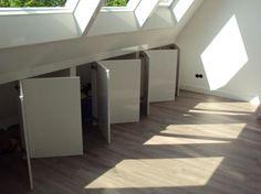 wardrobe solutions for loft conversion Small House Interior, Loft Storage, House, Loft Conversion, Home, Bedroom Loft, New Homes, Attic Rooms, Home Deco