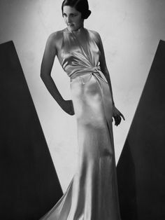 famous designer satin gowns 1930 - Google Search