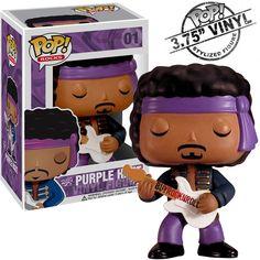 f96d999fb8e Jimi Hendrix Collectors Memorabilia  Funko Pop Rocks Purple Haze Figure  FunKo http