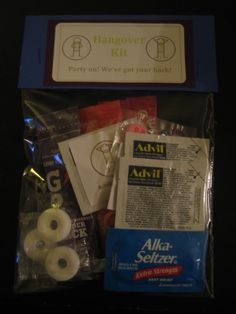 Hangover kit Bags perfect to sell at the stag and doe Baker Baker Carey Stag Games, Stag And Doe Games, Wedding Gift Bags, Wedding Welcome Bags, Before Wedding, Our Wedding, Destination Wedding, Wedding Ideas, Party Gifts