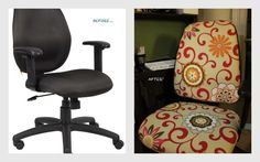 office chair reupholstery. Office Chair Reupholstery