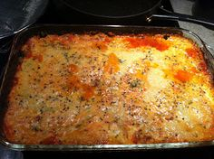 Counting Up with P10!: Three-Cheese Eggplant Bake wheat belly