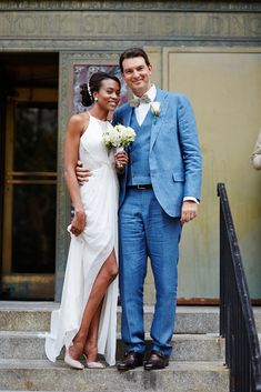 City Hall Weddings: 14 NYC Couples To Melt Your Heart #refinery29