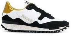 Golden Goose Deluxe Brand Women's White/black Leather Sneakers.