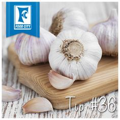 Looking for an easier way to peel garlic? Place cloves in a bowl, cover with another bowl to form a sphere, and shake. The peels will flake right off.
