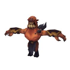 Low Poly Demon Grunt
