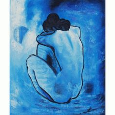 My favorite ever... on my wall now. -Picasso's Blue Nude