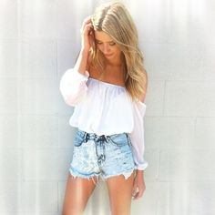lace high waisted shorts