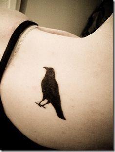 Tatuajes de aves | cuervos - Tendenzias.com