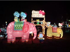 Hello kitty and elephants?? This must be what heaven looks like!!!