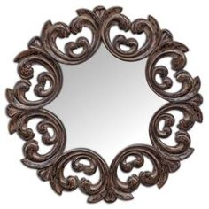 Check out the Uttermost 05028 Torlonia Round Mirror