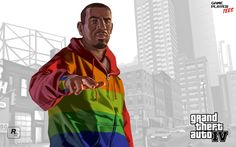 grand theft auto iii wallpapers | Grand Theft Auto IV wallpaper - Outdoor Playboy X widescreen