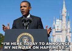 Obama's new tax