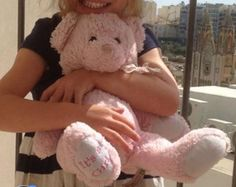 Lost at Bristol Airport on 02 Jul. 2016 by Natasha Edmonds : Fluffy pink teddy bear lost by the seats by baggage reclaim belt number 6 in Bristol Airport a All Is Lost, Lost & Found, Baggage, Pet Toys, Bristol, Plane, Teddy Bear, Number, Train