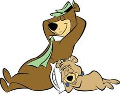 Yogi Bear; Pretty much all Hannah-Barbara stuff, truthfully. Though the Flintstones do have some pretty classic moments.