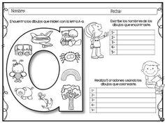 Compartimos este fantástico material de la maestra star leyva en la que nuestros alumnos deben de encontrar los dibujos que empiezan por cada una de las letras, escribir sus nombre …