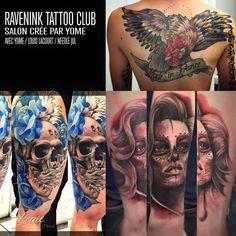 Artiste tatoueur depuis 2010.  Retrouvez-moi chez Raven Ink Tattoo Club, 65 rue d'Amsterdam à Paris du Lundi au Samedi.