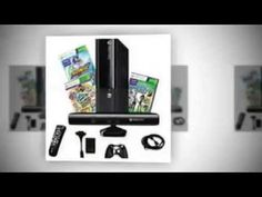 Xbox 4GB Kinect Console with 2 Games and 4 in 1 Accessory Kit Bundle