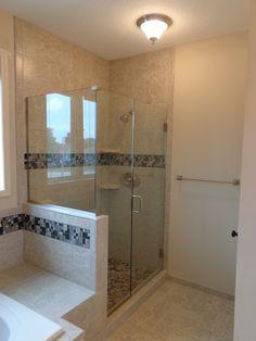 Call Binswanger Glass Kansas City @ to design and install custom shower enclosures to fit any space! Bathroom Designs, Bathroom Ideas, Frameless Shower Enclosures, Custom Shower, Glass Shower Doors, Bath Room, Kansas City, Basement