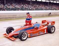 #1 CALUMET FARMS MARCH/COSWORTH DRIVEN BY GEORGE SNIDER 1983