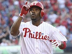 Since June 1, Jimmy  Rollins has hit .292 with a .354 on-base percentage and seven home runs. (Steven M. Falk/Staff Photographer)