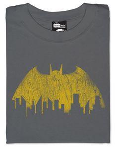 Vintage Batman Skyline T-shirt
