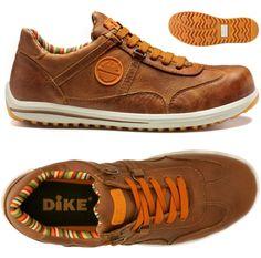 Zapato seguridad DIKE RAVING RACY S3 color Tabaco